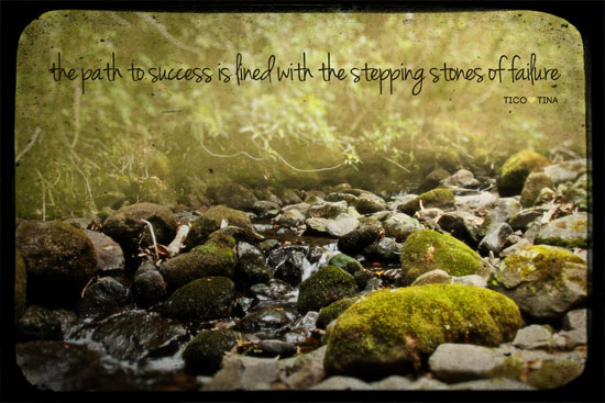 failures are the stepping stones of success essays